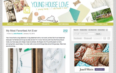 Young House Love screenshot