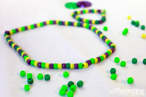 Mardi Gras Beads Arts And Crafts