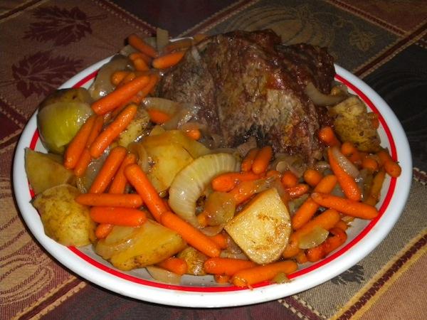 YummyScrumptious Crock Pot Roast Beef