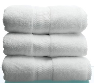 fluffy stack of towels
