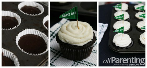 Stout cupcakes collage