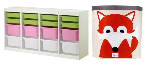 For The Playroom I Love Trofast Storage Units From Ikea That Come In All