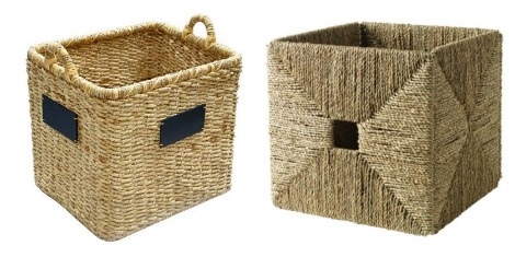 toy storage baskets