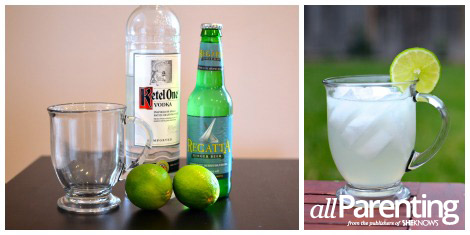 Moscow mule collage