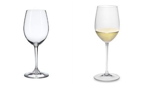 The classic white wine glass