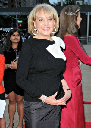 Barbara Walters gets bossy from bed