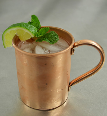 Barcelona Mule cocktail recipe