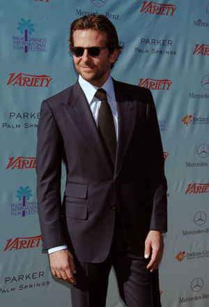Bradley Cooper in a suit