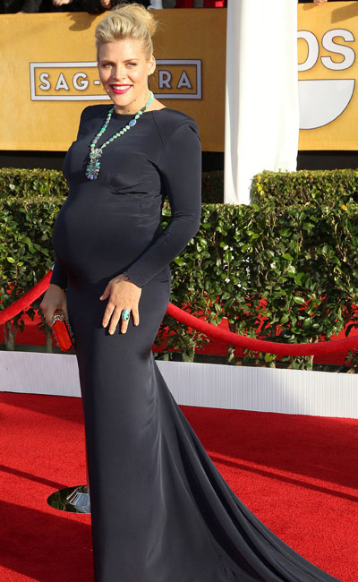 Pregnant Busy Philipps at SAG Awards