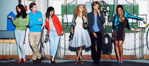 The Cast of the Carrie Diaries