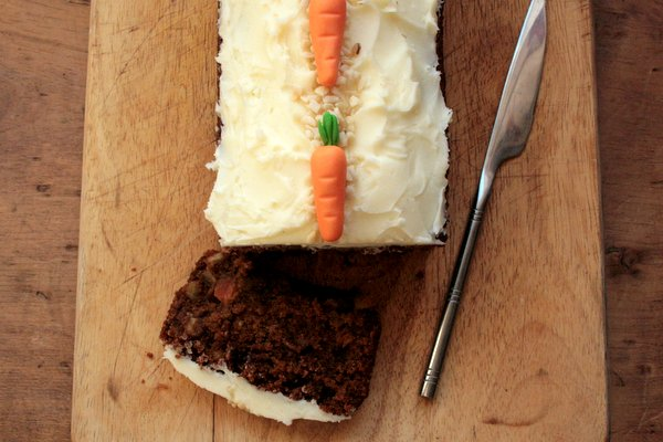 This delicious and moist carrot cake is perfect for anyone who is gluten-free.