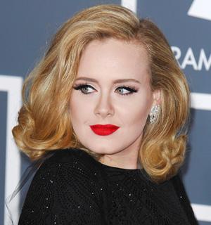 Adele's winged eyeliner