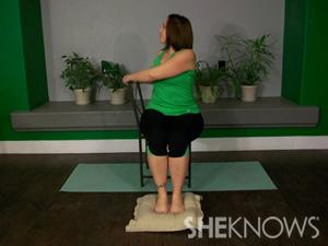 Chair spinal twist