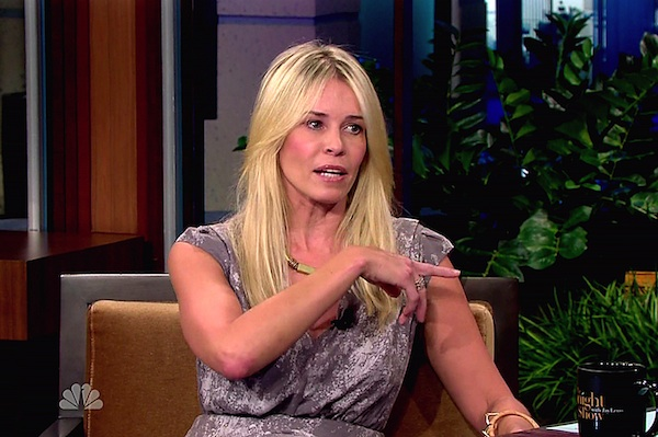 Chelsea Handler on Chelsea Lately.
