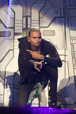 Chris Brown on Carpe Diem tour