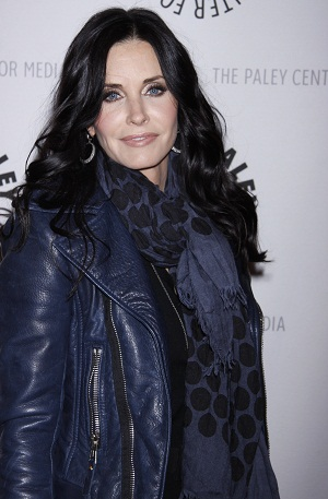 Courteney Cox  sits down with Ellen