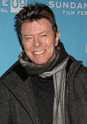 David Bowie at Sundance in 2009.