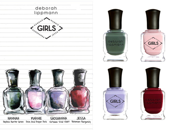 Girls-themed nail polish by Deborah Lippmann
