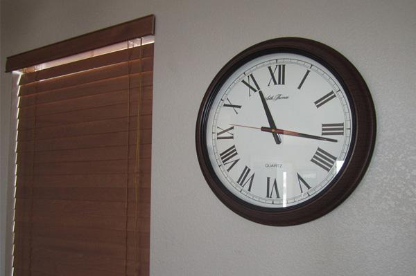 Thrift store clock