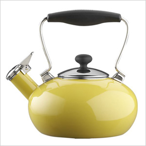 Yellow teakettle