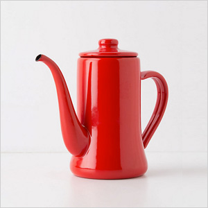 Enamel teapot