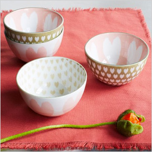 Printed bowls