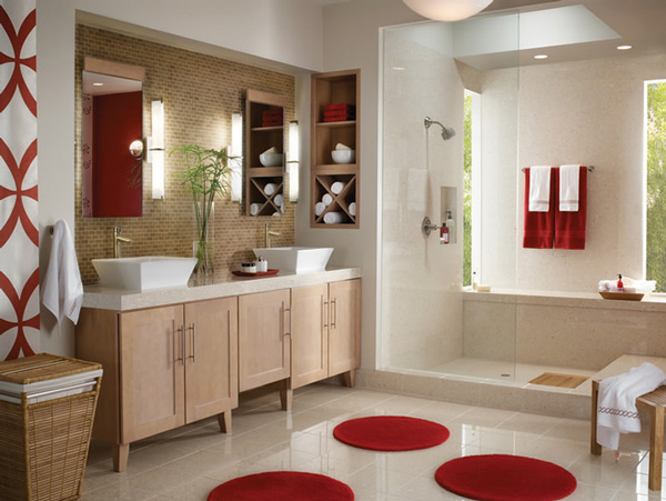 Modern Bathroom Double Vanity