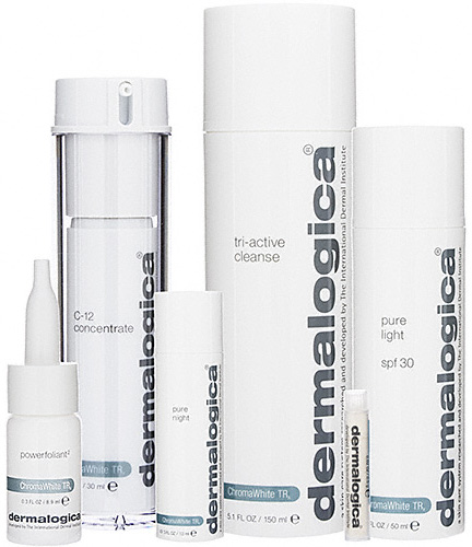 Demalogica's Chroma White TRx Brightening Regimen