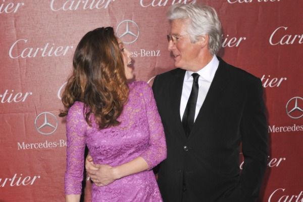 Diane Lane and Richard Gere, Palm Springs Film Festival