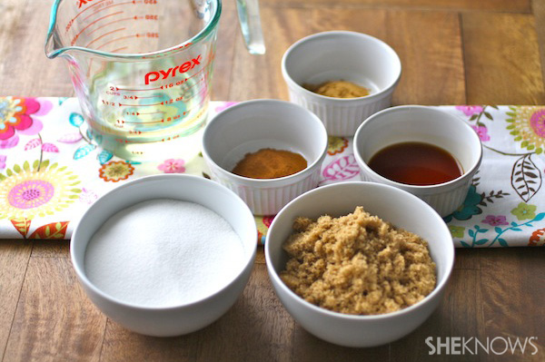 DIY Sweet and Spicy Sugar Scrub
