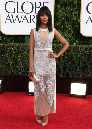 Kerry Washington at the 2013 Golden Globes