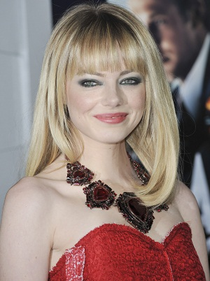 Emma Stone at the Gangster Squad premiere
