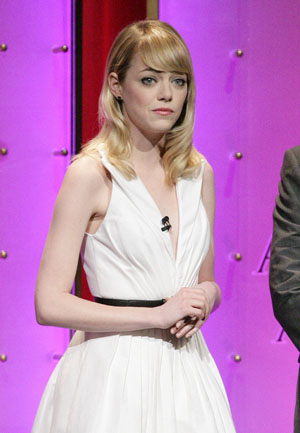 Emma Stone gives the Oscar Nominations