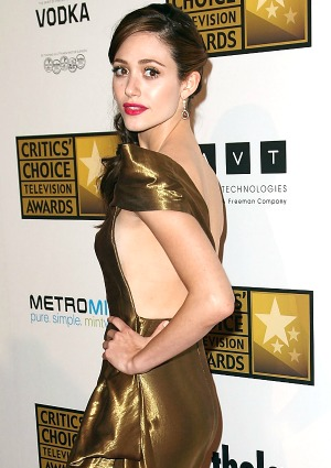 Is Emmy Rossum too pretty for Shameless?