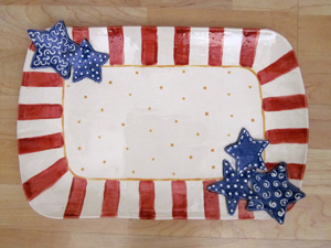 patriotic platter.