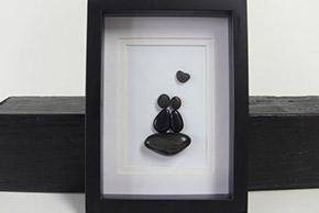 etsy pebble love art