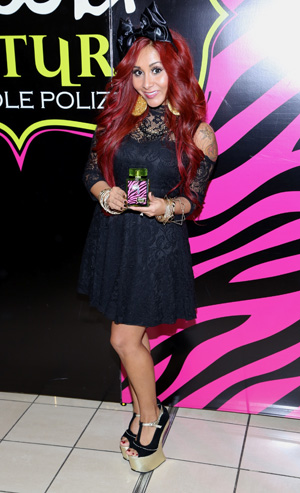 Snooki at the launch of her new fragrance 'Snooki Couture'