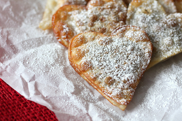 the air! These simple heart-shaped raviolis are stuffed with Nutella ...