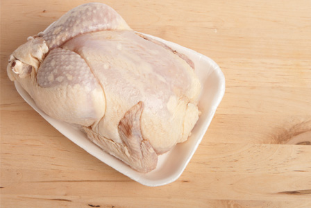 how to cook a frozen chicken fast