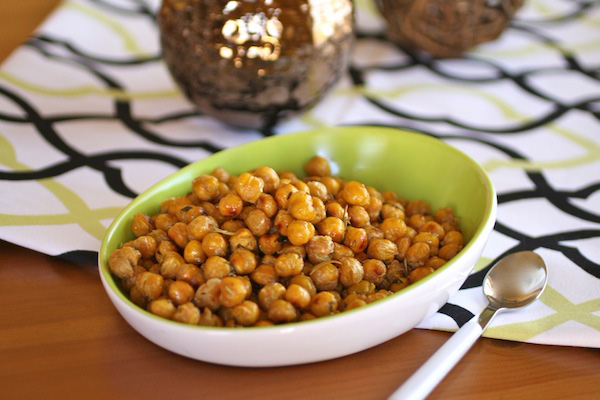 Herbed, Roasted Chickpeas