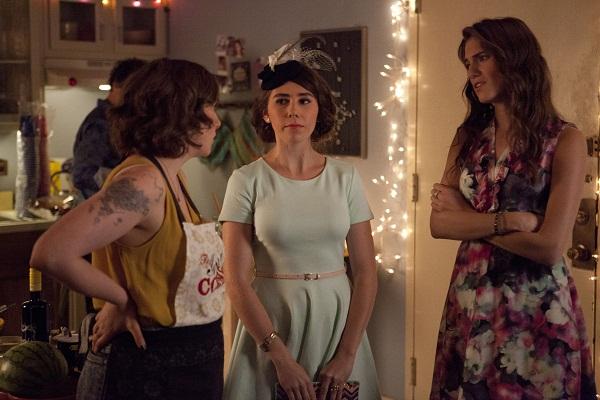 Girls' Hannah, Shoshanna, and Marnie