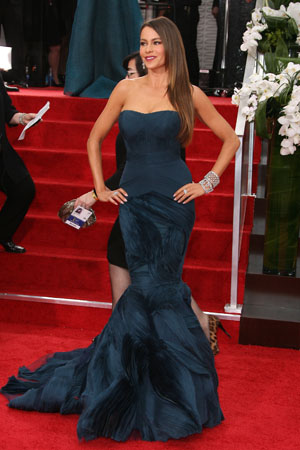 Sofia Vergara at the Golden Globes