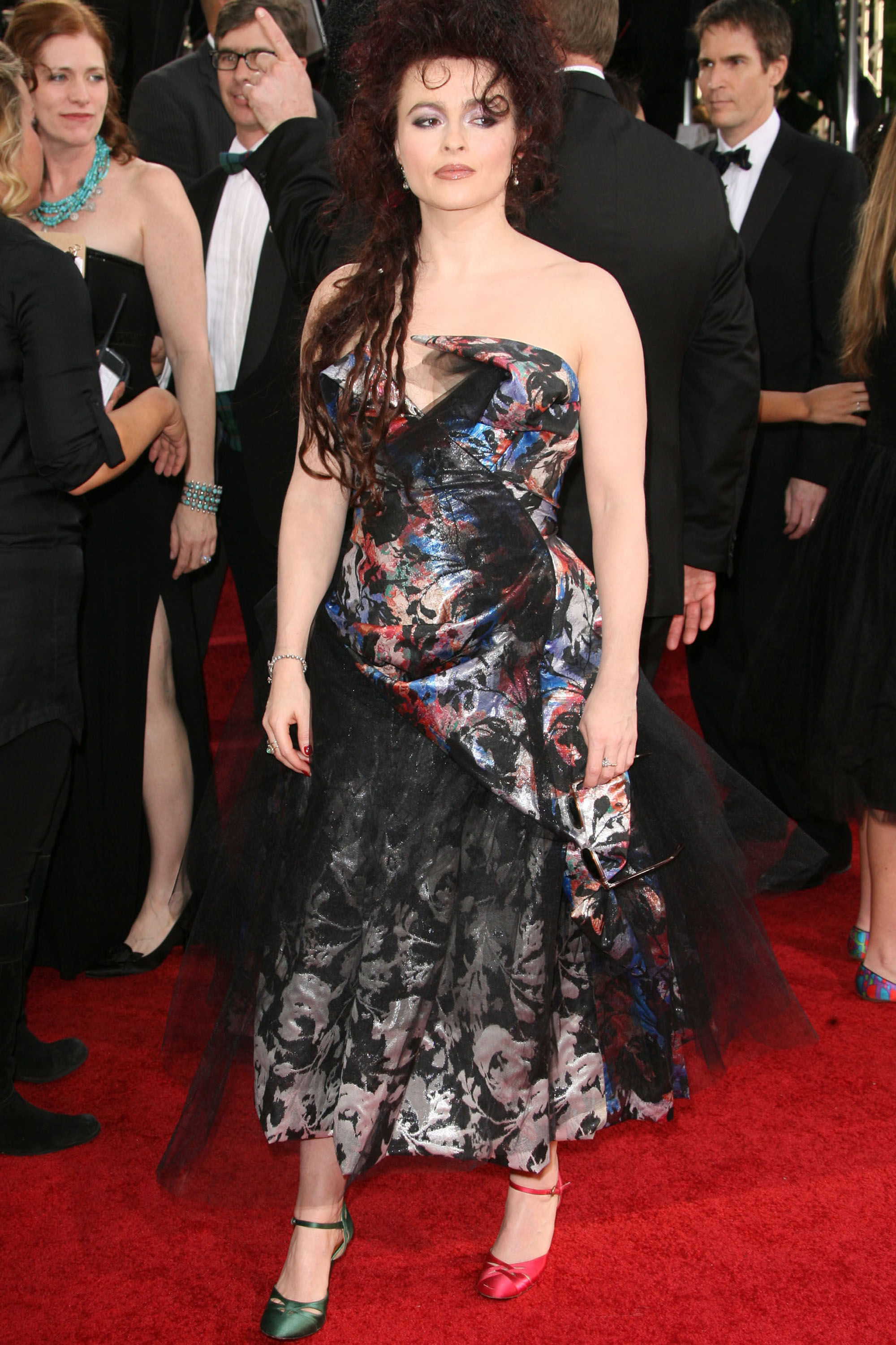 Helena Bonham Carter at the 2011 Golden Globes