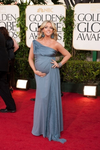Jane Krakowski at the Golden Globes