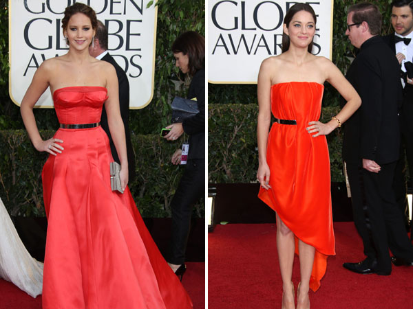 Marion Cotillard vs. Jennifer Lawrence
