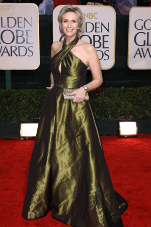 Jane Lynch at the 2010 Golden Globes