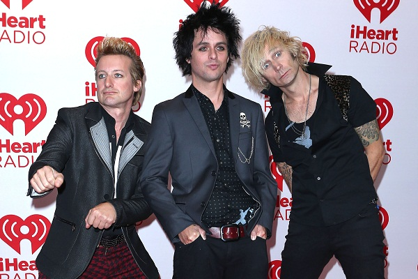 Green Day at iHeartradio festival