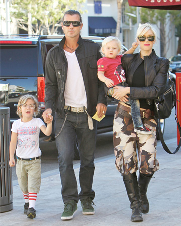 Gwen, Gavin, Kingston and Zuma