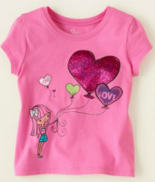 Heart tee