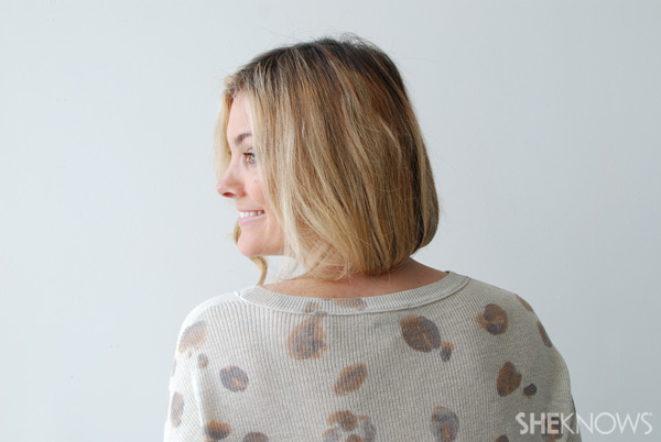 Get a short look — with long hair!